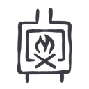log burner icon