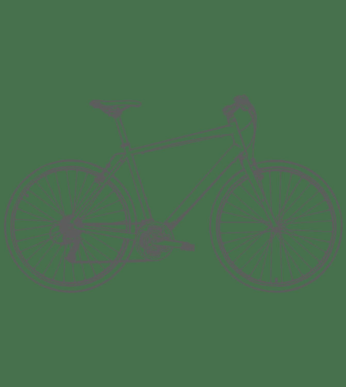 Bike hire glamping
